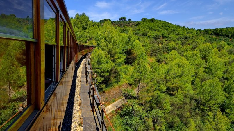 The Incredible Palma to Soller Train