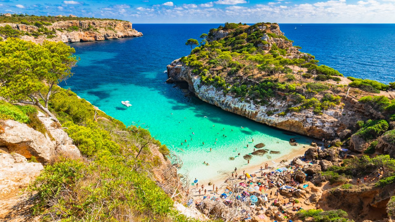 Calo d'es Moro is one of the best beaches in Mallorca