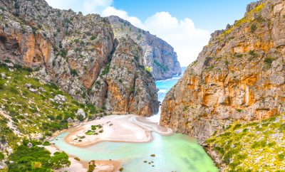 Sa Calobra is one of the best beaches in Mallorca