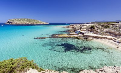 Cala Comte ranked as one of the best Ibiza beaches