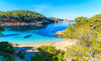 Cala Salada is one of our best Ibiza beaches