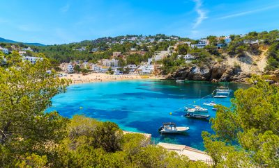Cala Vadella is one of our best Ibiza beaches for families